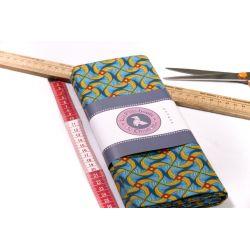 Tissu motif wax africain Kita