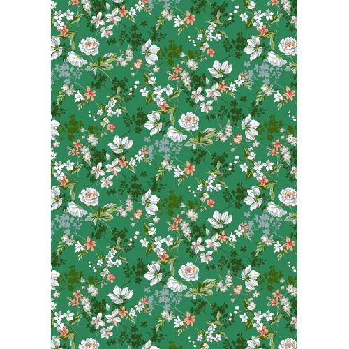 Tissu à motif fleurs Amaryllis