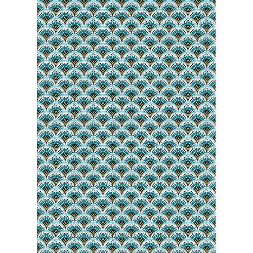 Tissu à motif Petit Pan Wasabi