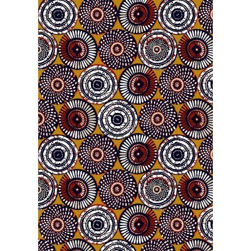 Tissu à motifs ethnique Soweto