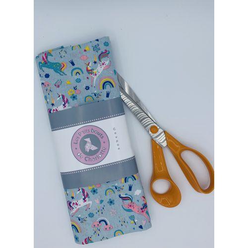 Tissu à motifs Licorne