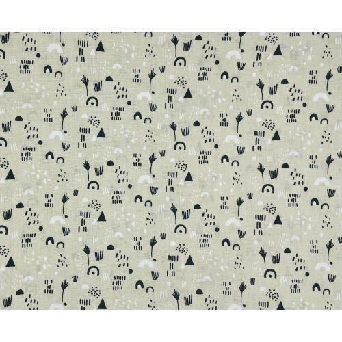 Tissu motif Savane Prio