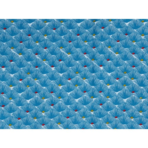 Tissu à motif Nautilus