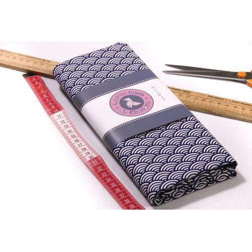 Tissu géométrique japonais
